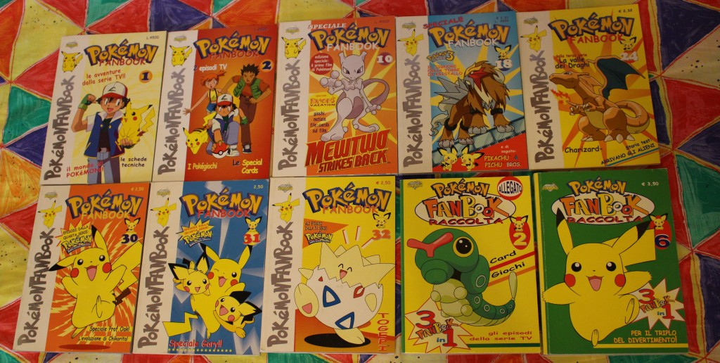 fanbook pokemon